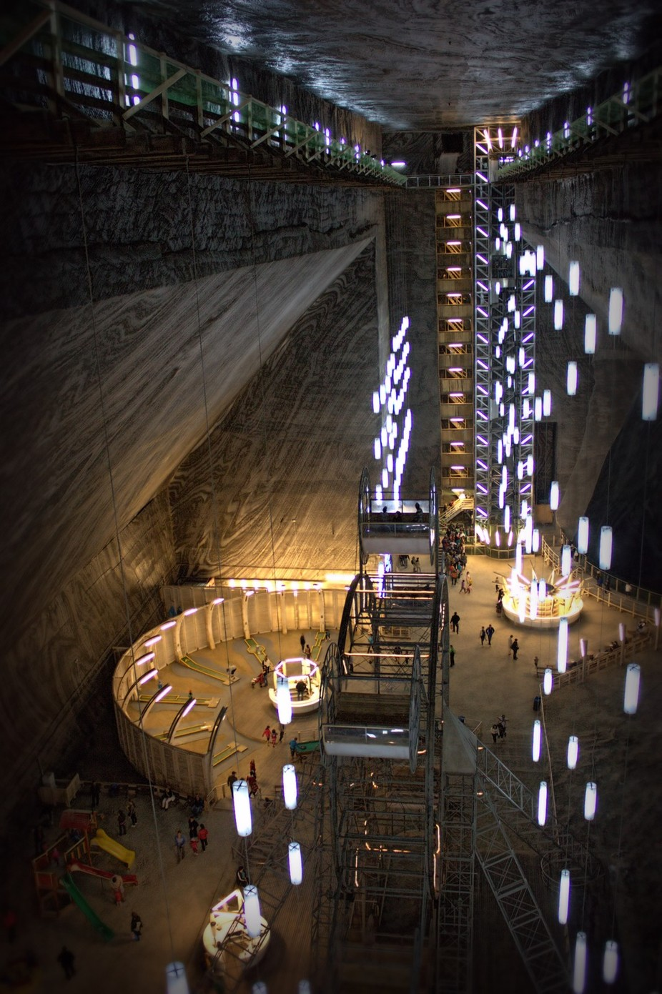 Salt Mine Museaum by GreenCopperz - Stairways Photo Contest