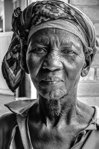 Kenyan woman portrait