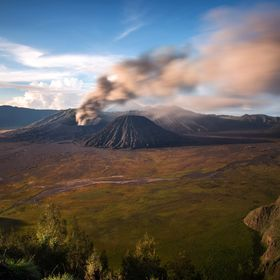 Bromo is an active volcano and part of the Tengger massif, in East Java, Indonesia