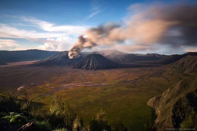 Bromo volcano - 2016 Eruption by kutsey - The Zen Moment Photo Contest