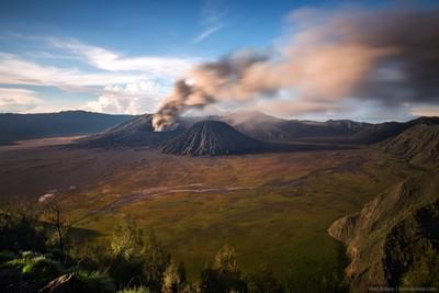 Bromo volcano - 2016 Eruption