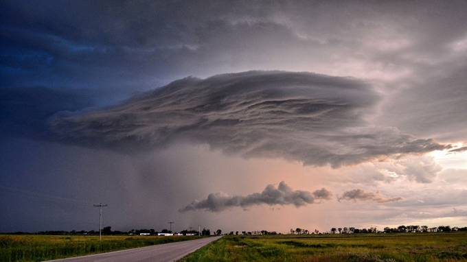 Shelf Cloud by daleigh - Clouds In Movement Photo Contest