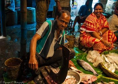 Moods @ fish market in the city of joy