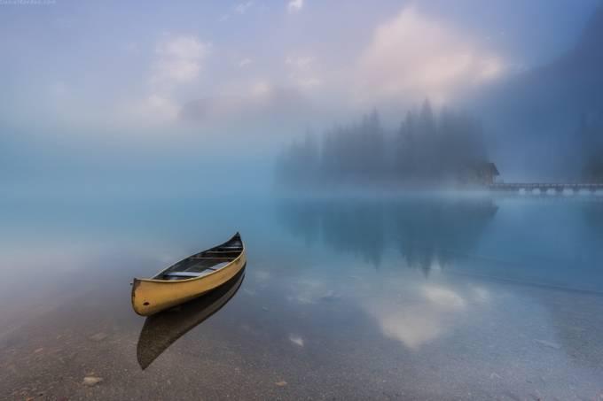 Emerald lake by DanielKordan - The Zen Moment Photo Contest