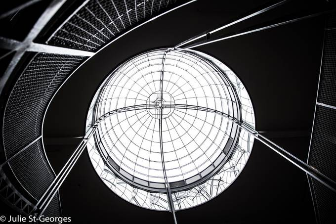 Round light by juliestgeorges - Clever Angles Photo Contest