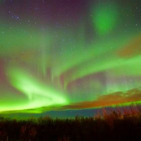 The mythology around the Northern lights is that female spirits are capturing the souls of the greatest warriors. I felt that the shapes in the l...
