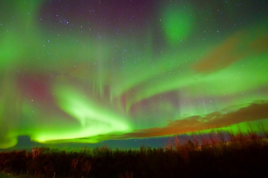 The mythology around the Northern lights is that female spirits are capturing the souls of the gr...