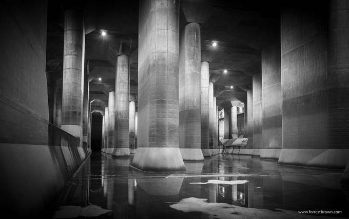 G-Cans by Forrest_Brown - Black And White Architecture Photo Contest