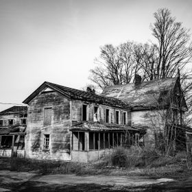 An abandoned farmhouse in central NY.
