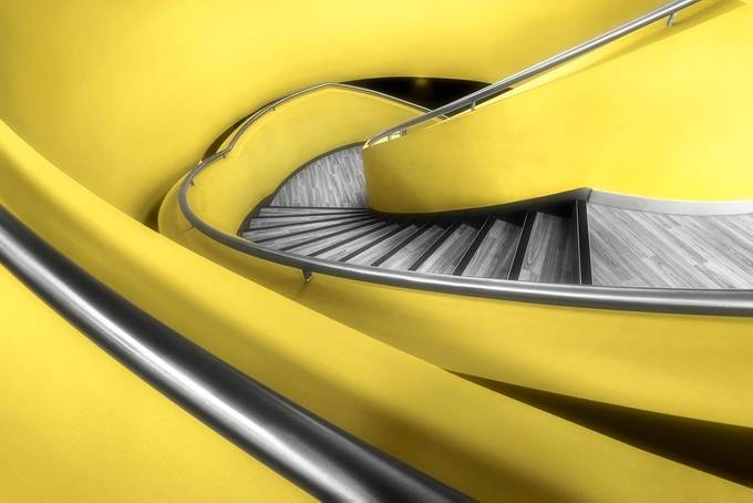 HULL_HYMERS_YELLOW by gilesrrocholl - Stairways Photo Contest