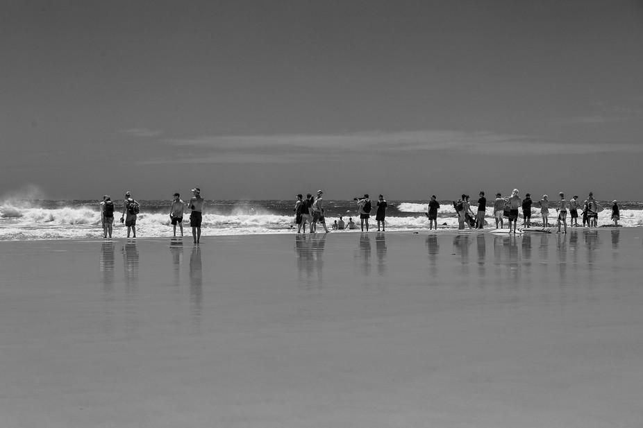 Surfing championship , Gold Coast , Australia