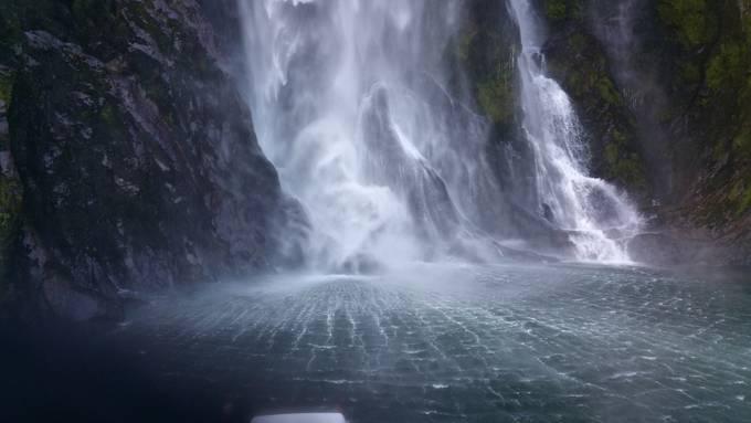 Milford Sound Waterfall - NZ Trip by troyryczak - Discover Oceania Photo Contest