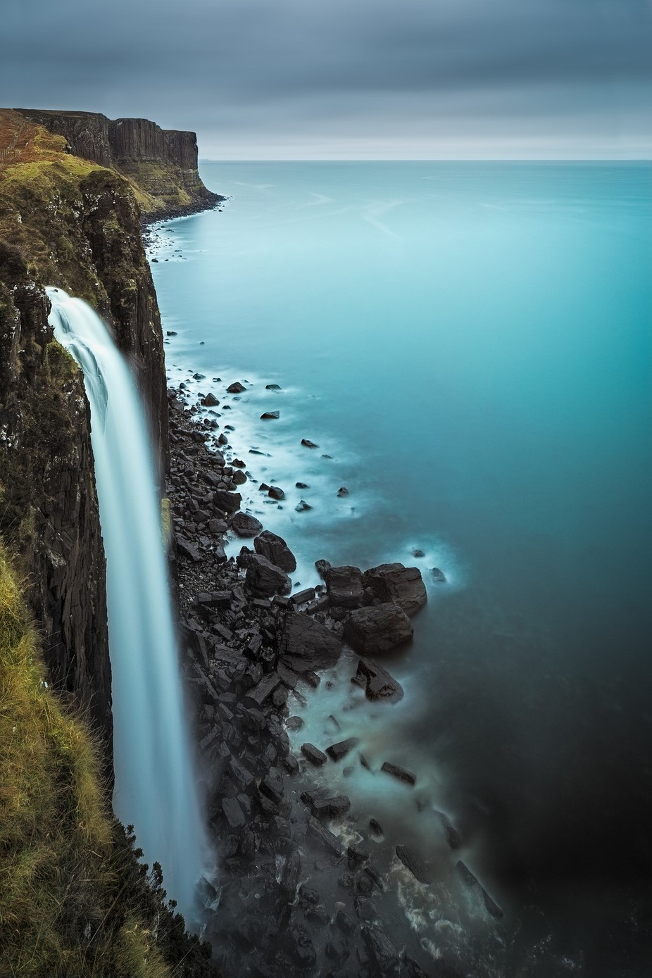 Mealt Falls by PaulPersys - Spectacular Cliffs Photo Contest