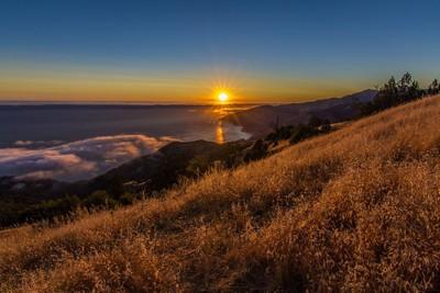 Big Sur Sunset.