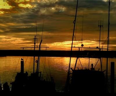 Moro Bay, California Sunset