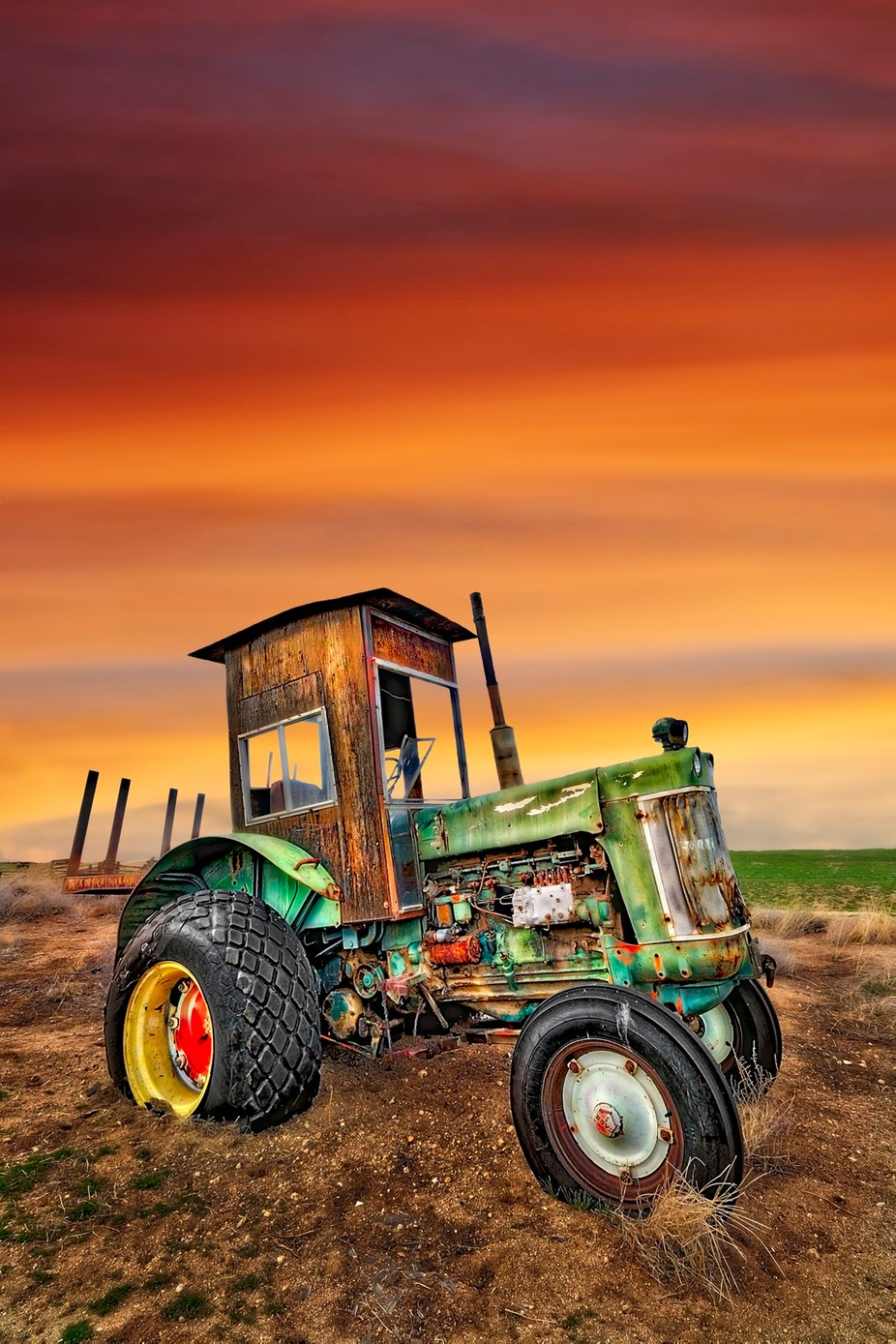 Case 930 with Custom Cab by dynastesgranti - Farms And Barns Photo Contest