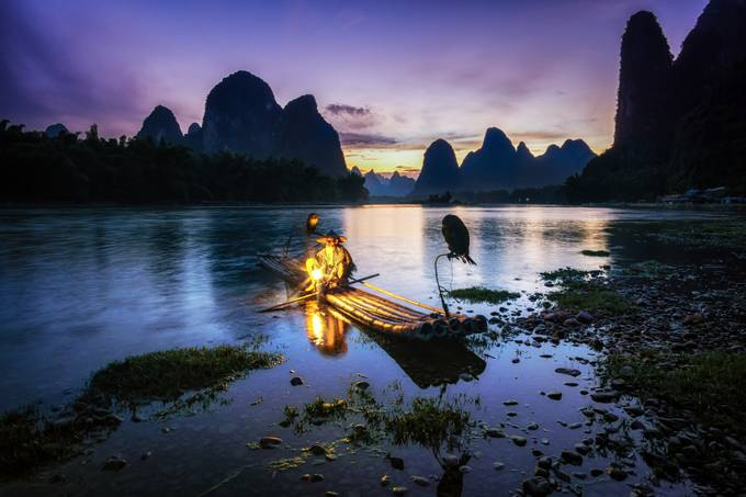 The Cormorant Fisherman by aaronchoiphoto - Zen Photo Contest