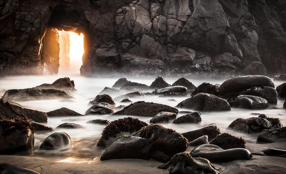 Pfeiffer Beach long exposure