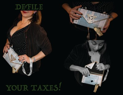Defile Your Taxes