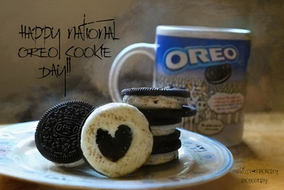Happy National Oreo Cookie Day...