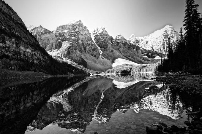 Reflections... Moraine Lake by Beno62 - Lakes And Reflections Photo Contest