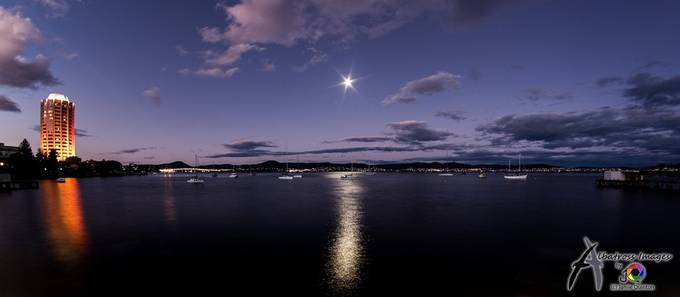 Derwent Nightscape lit by the Full Moon by Albatross_Images - The Moonlight Photo Contest