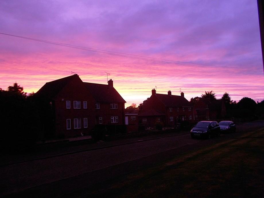 Sunset in Fakenham