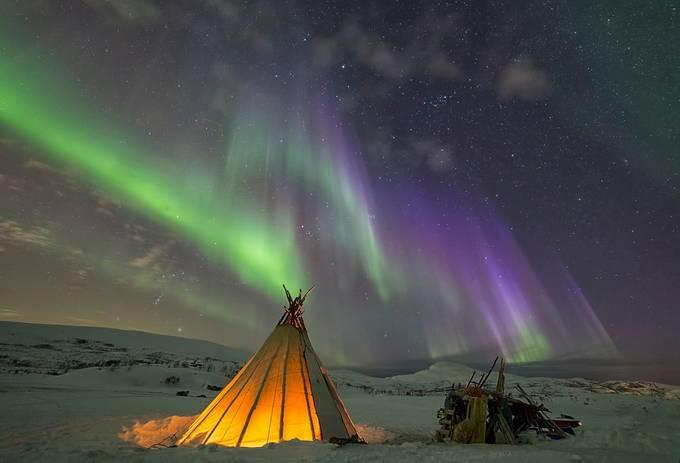Northern lights boom by zlimmen - Creative Travels Photo Contest