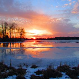 Today was an awesome Michigan day, which was followed up by this.