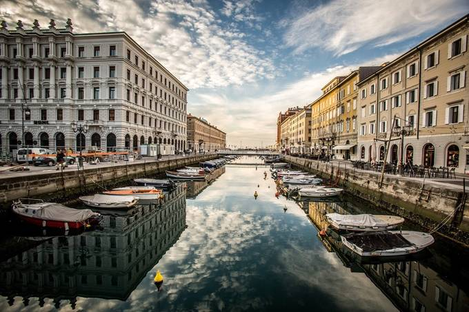Grand Canal Trieste by ericcriswell - Canals Photo Contest