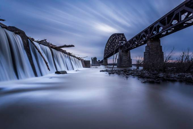 Falls of the Ohio by npentecost - The Moving Clouds Photo Contest