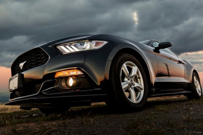 Xavier's Mustang 2015 - Sunset II