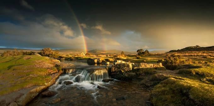 Distant storm by stuarthingston - Unforgettable Landscapes Photo Contest by Zenfolio