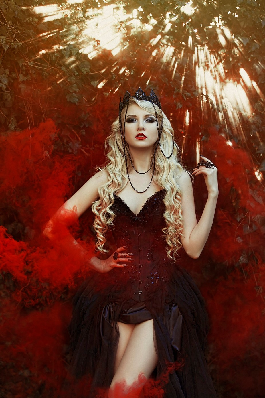 Crimson  by gracealmera - Bright And Colorful Photo Contest