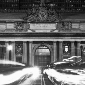 A friend of mine and I went out one night with the intention of shooting some long exposures around Grand Central. This is the south facade of th...