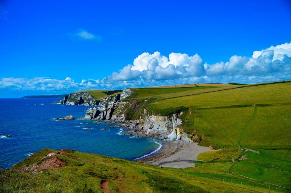 taken at Challaborough Bay, South Devon
