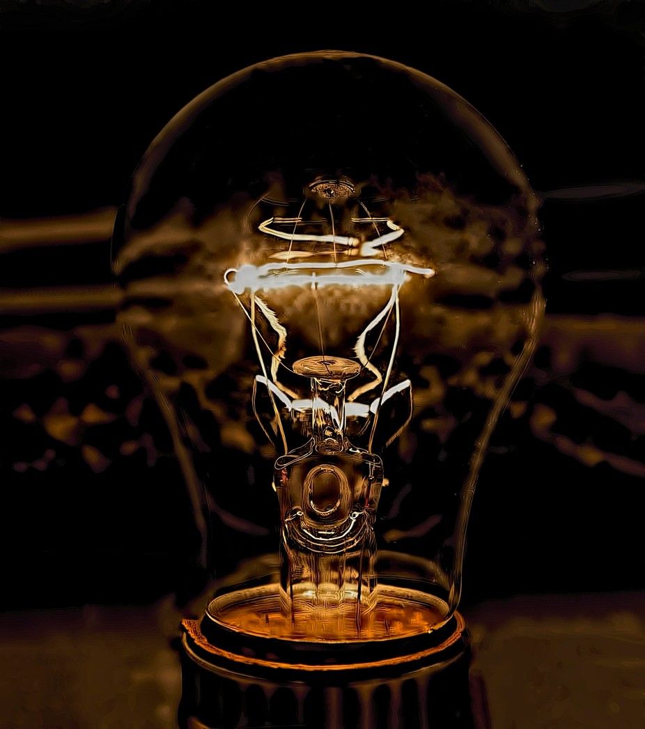 A Clear Bulb by maryeileengardner - Energy Photo Contest