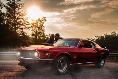 N, C & the Mustang
