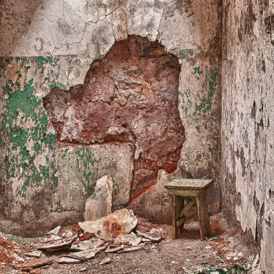 Taken with a Nikon D300 of the Eastern State Penitentiary in Philadelphia.