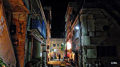 Old Town Naha night
