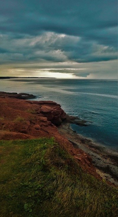 Clouds over Prince Edward Island