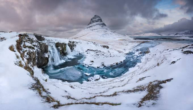 KIrkjufell stream by wildlifemoments