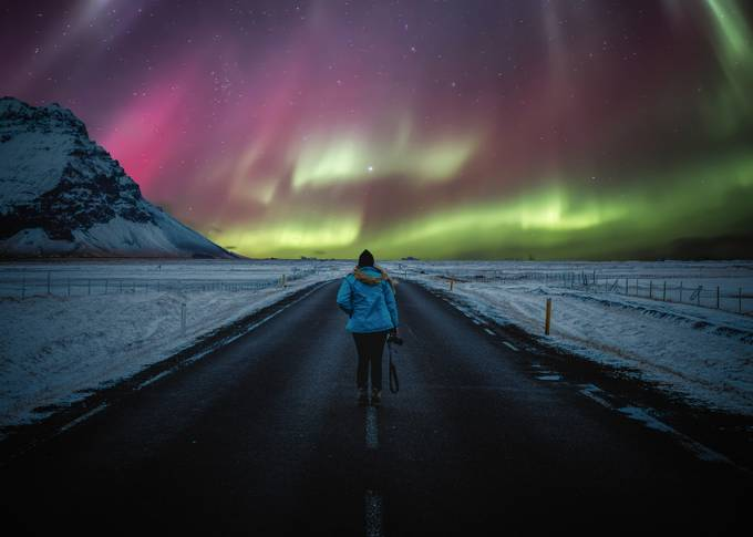 Aurora Borealis, Iceland by aaronhill