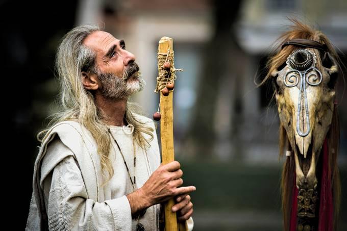 Pagan priest by zenit - Faith Photo Contest with Scott Jarvie
