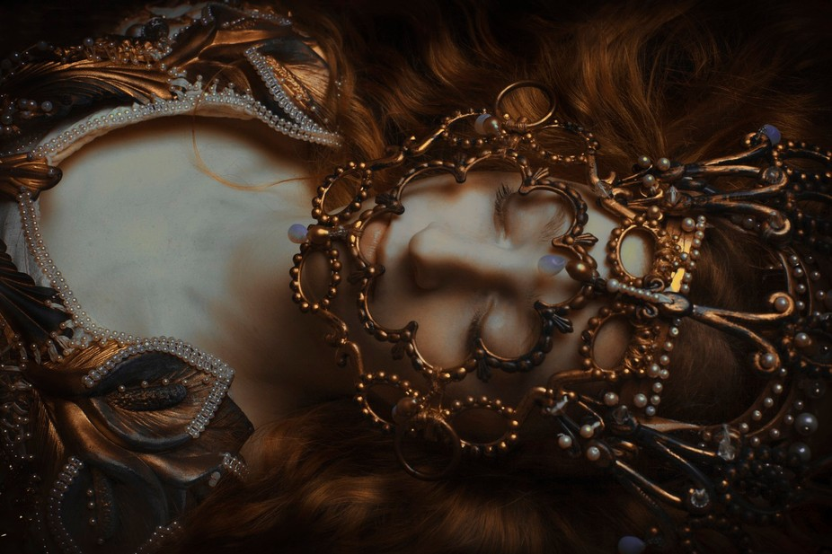 Model - Mara Styling - Agnieszka Osipa Photography - Laura Sheridan's Art