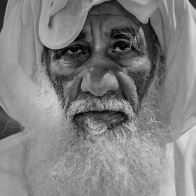 An old pearl diver from Fujeirah in the United Arab Emirates
