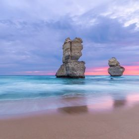 'Twas the last night of the Great Ocean Road section of our Road Trip. My son Mitch and I decided to skip the more common 12 Apostles lookou...