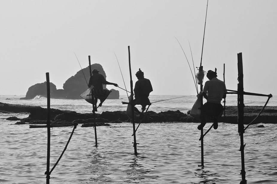 Fishing Sri Lankan style