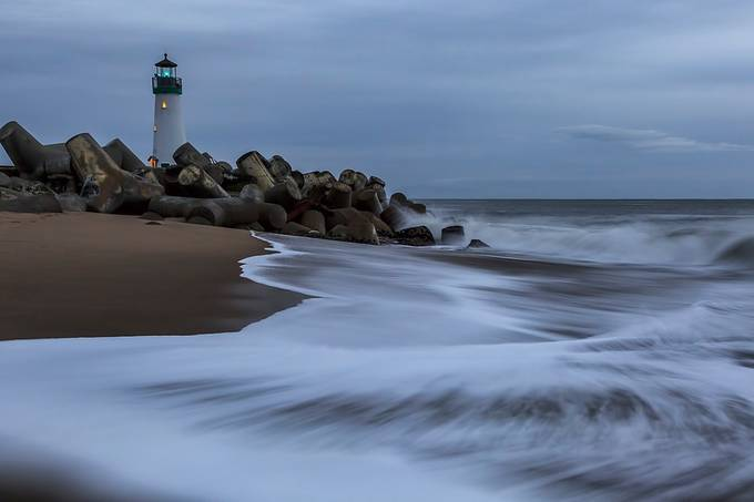 Lighthouse Surf by patrick9x9 - Long Exposure Views Photo Contest