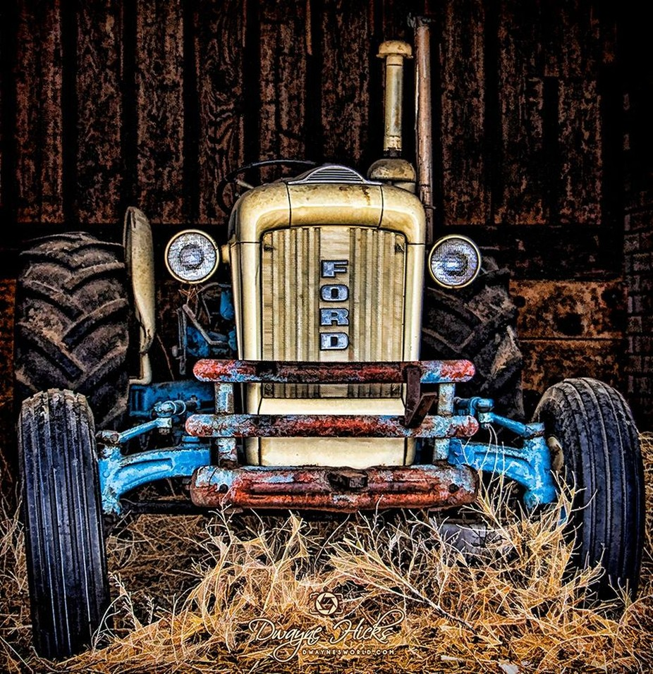 Herbigs Tractor by DwaynesWorld - Letters And Words Photo Contest
